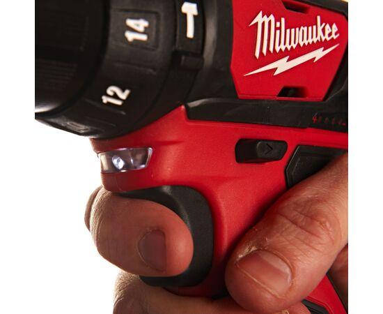 Аккумуляторная ударная дрель-шуруповерт Milwaukee M12 BPD-202C - 4933441940, Вариант модели: M12 BPD-202C, фото , изображение 10
