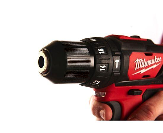 Аккумуляторная ударная дрель-шуруповерт Milwaukee M12 BPD-202C - 4933441940, Вариант модели: M12 BPD-202C, фото , изображение 4