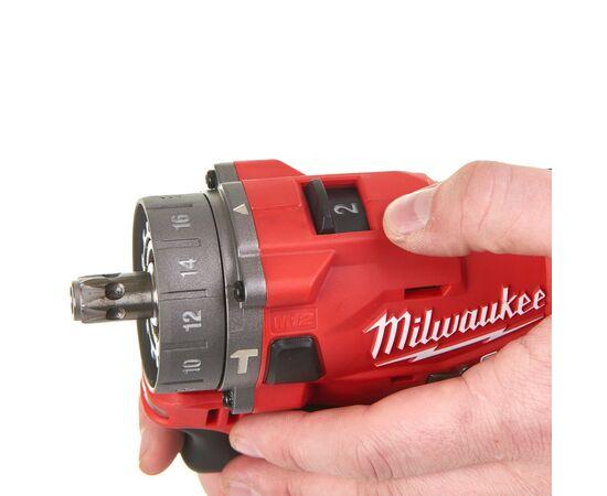Аккумуляторная ударная дрель-шуруповерт со сменным патроном Milwaukee M12 FPDXKIT-202X - 4933464138, Вариант модели: M12 FPDXKIT-202X, фото , изображение 9