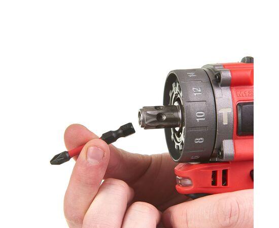 Аккумуляторная ударная дрель-шуруповерт со сменным патроном Milwaukee M12 FPDXKIT-602X - 4933464189, Вариант модели: M12 FPDXKIT-602X, фото , изображение 10