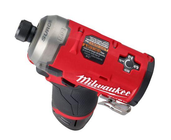 Аккумуляторный импульсный гидравлический винтоверт Milwaukee M12 FQID-202X - 4933464973, Вариант модели: M12 FQID-202X, фото , изображение 5