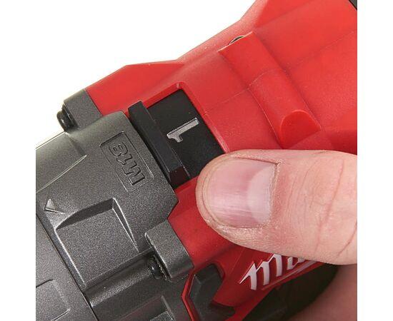 Аккумуляторная дрель-шуруповерт Milwaukee M18 FDD2-0X - 4933464266, Вариант модели: M18 FDD2-0X, фото , изображение 3