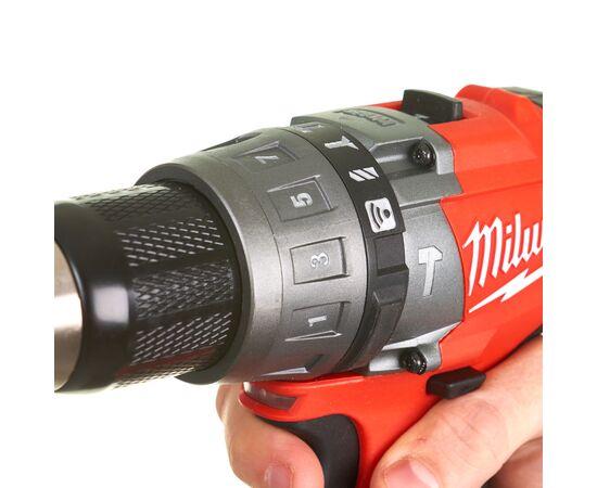 Аккумуляторная ударная дрель-шуруповерт Milwaukee M18 ONEPD-0 - 4933451146, Вариант модели: M18 ONEPD-0, фото , изображение 5