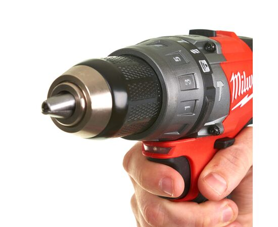 Аккумуляторная ударная дрель-шуруповерт Milwaukee M18 ONEPD-0X - 4933451910, Вариант модели: M18 ONEPD-0X, фото , изображение 5