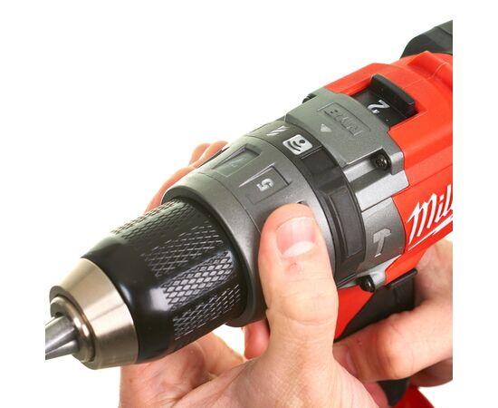 Аккумуляторная ударная дрель-шуруповерт Milwaukee M18 ONEPD-0X - 4933451910, Вариант модели: M18 ONEPD-0X, фото , изображение 8