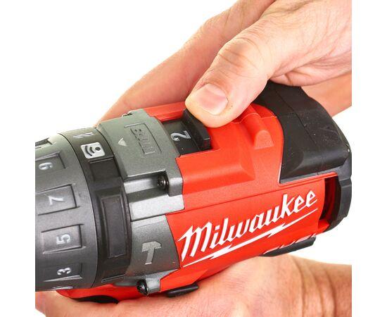 Аккумуляторная ударная дрель-шуруповерт Milwaukee M18 ONEPD-0X - 4933451910, Вариант модели: M18 ONEPD-0X, фото , изображение 9