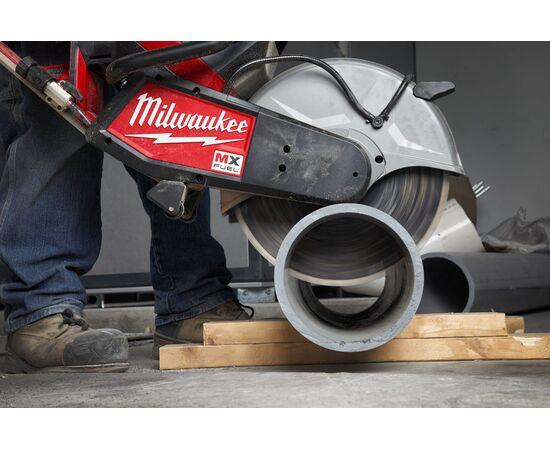 Отрезная машина - бетонорез Milwaukee MX FUEL MXF COS350-601 (замена бензореза) - 4933471833, фото , изображение 21