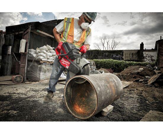 Отрезная машина - бетонорез Milwaukee MX FUEL MXF COS350-601 (замена бензореза) - 4933471833, фото , изображение 22