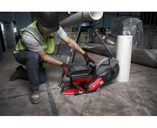 Отрезная машина - бетонорез Milwaukee MX FUEL MXF COS350-601 (замена бензореза) - 4933471833, фото , изображение 23