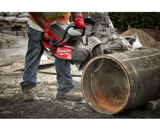 Отрезная машина - бетонорез Milwaukee MX FUEL MXF COS350-601 (замена бензореза) - 4933471833, фото , изображение 24