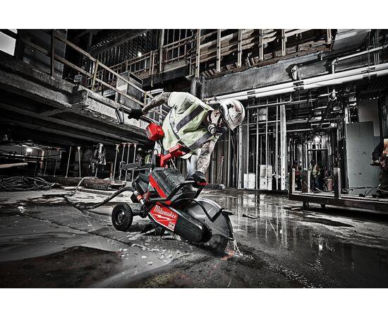 Отрезная машина - бетонорез Milwaukee MX FUEL MXF COS350-601 (замена бензореза) - 4933471833, фото , изображение 28