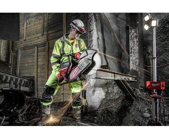 Отрезная машина - бетонорез Milwaukee MX FUEL MXF COS350-601 (замена бензореза) - 4933471833, фото , изображение 29
