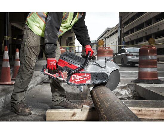 Отрезная машина - бетонорез Milwaukee MX FUEL MXF COS350-601 (замена бензореза) - 4933471833, фото , изображение 7