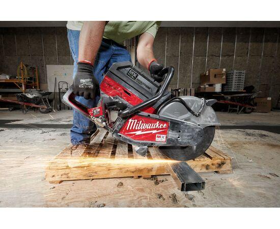 Отрезная машина - бетонорез Milwaukee MX FUEL MXF COS350-601 (замена бензореза) - 4933471833, фото , изображение 9