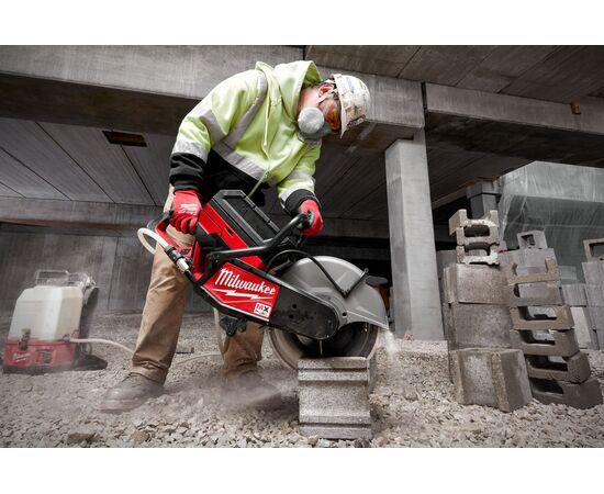 Отрезная машина - бетонорез Milwaukee MX FUEL MXF COS350-601 (замена бензореза) - 4933471833, фото , изображение 10